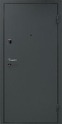 Металлические двери с порошковым напылением в городе Можайск.  Дверь серии ПН №2.