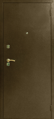 Металлические двери с порошковым напылением в городе Можайск.  Дверь серии ПН №4.