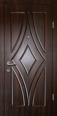 металлическая дверь город Руза серия МДФ № 30.