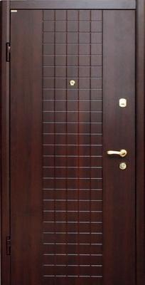 металлическая дверь город Руза серия МДФ № 4.