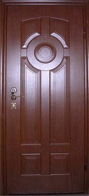 МДФ № 9. металлическая дверь город Руза.