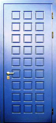 МДФ № 11. металлическая дверь город Руза.