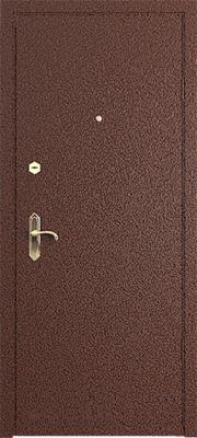 Металлические двери с порошковым напылением в городе Можайск.  Дверь серии ПН №3.