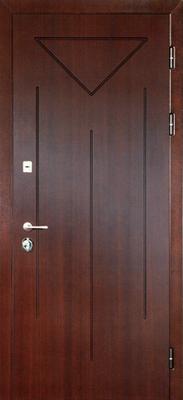 металлическая дверь город Руза серия МДФ № 6.