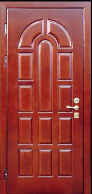 МДФ № 13. металлическая дверь город Руза.