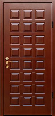 металлическая дверь город Руза серия МДФ № 3.