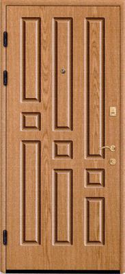 МДФ № 8. металлическая дверь город Руза.