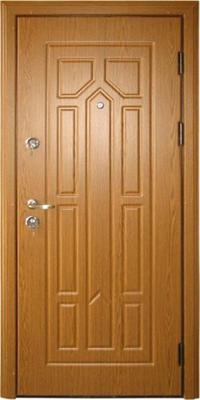 МДФ № 15. металлическая дверь город Руза.