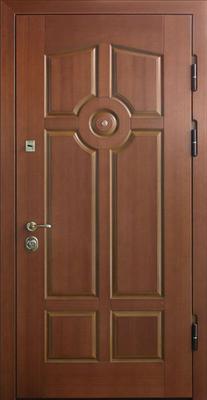 МДФ № 16. металлическая дверь город Руза.