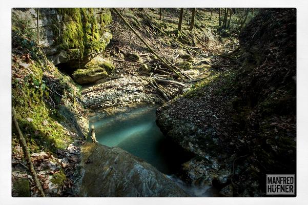 Ettengraben im Wangental mit Wasserfall