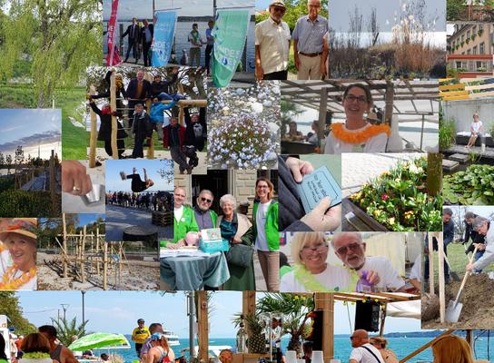 Erfolgreiche Projekte, Events, grüner Uferpark im Jahr 2019