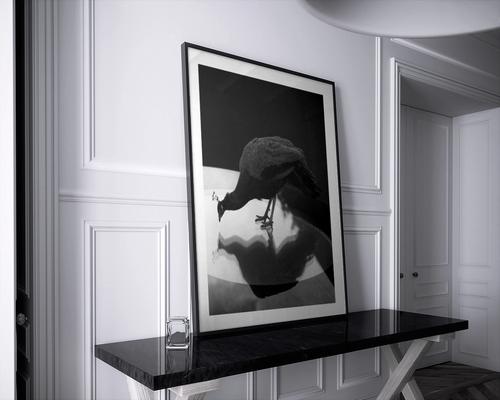 Titel: Selbsterkenntnis Format: 30 x 40 cm / Preis: 79,- (Rahmen kostenlos)