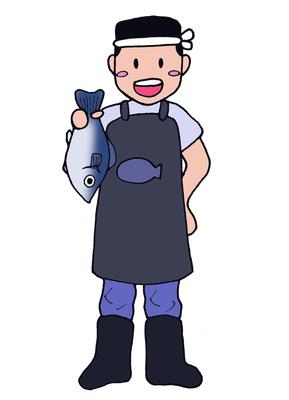 魚屋さん、キャラクター、2016、