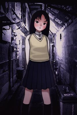 『路地裏の少女』オリジナル、2016