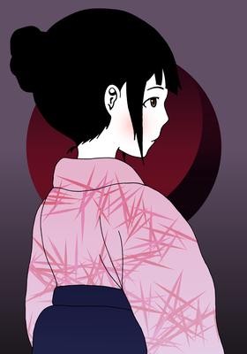 『袴の少女』オリジナル、2015