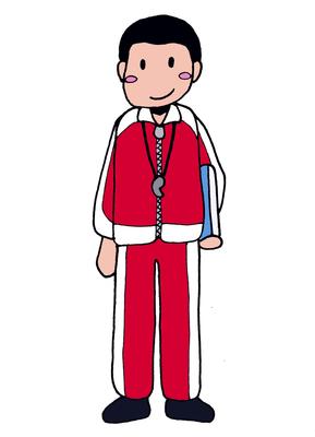 体育教師、キャラクター、2016