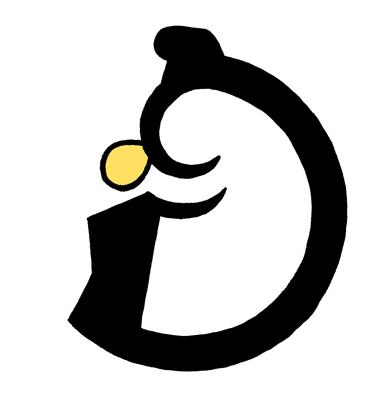デザイン、ロゴ、こぶとりじいさん、授業課題、2014