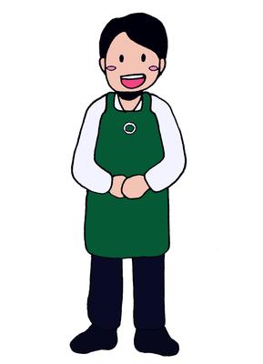 コーヒーショップの店員、キャラクター、2016