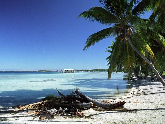 Takaroa - Südseeatoll in den Tuamotus - Französisch Poynesien