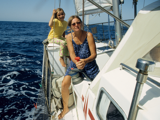 Ingrid und Anna auf dem Weg nach Ägypten