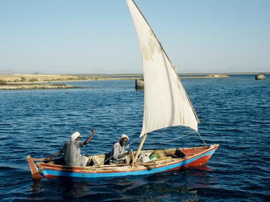 Fischer im Roten Meer - Sudan
