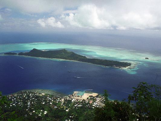 Gipfelsieg auf Bora Bora - Französisch Poynesien