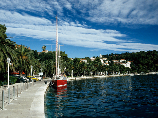 Längseits in Cavtat - Kroatien