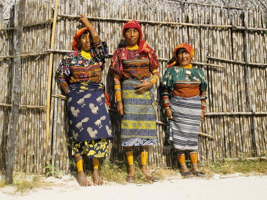 Kuna Indianer, San Blas - Panama