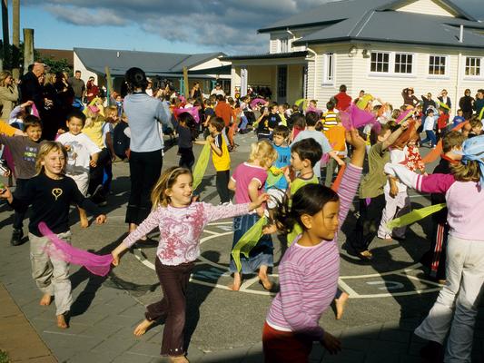 Schule in Taronga - Neuseeland