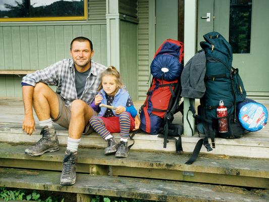 Auf dem Whaikaremoana Trail, sechs Tage im Busch - Neuseeland