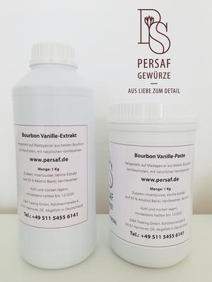 Unser neuestes Produkt: Bourbon Vanille-Extrakt und Vanille-Paste aus Madagascar