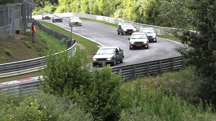volvo V70R AWD Nurburgring