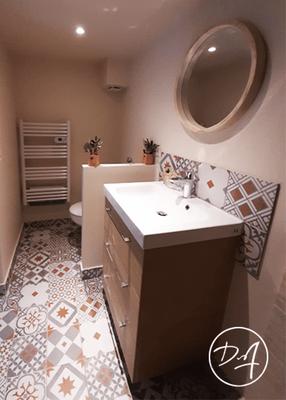 Agencement salle de bain - Décor Zé Âme