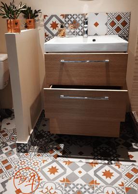 Rénovation salle de bain - Décor Zé Âme