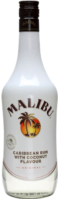 Malibu - Caribbean Rum With Coconut Flavour