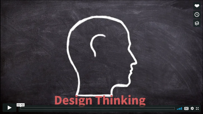 Design Thinking Phases video from course