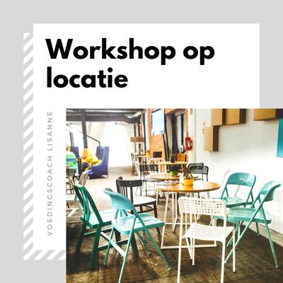 Workshop op locatie