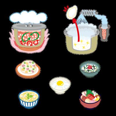 【雑誌/2013】「きょうの料理」(NHK出版)パナソニックタイアップ広告イラスト