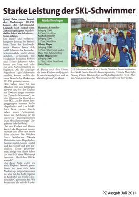 PZ Ausgabe Juli 2014
