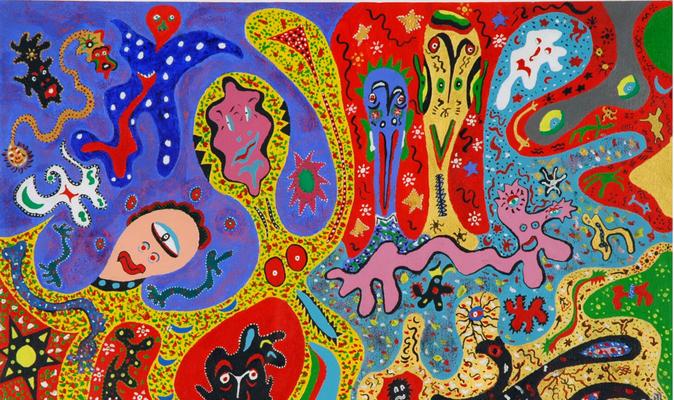 Carnaval (acrylique sur toile - 1997)