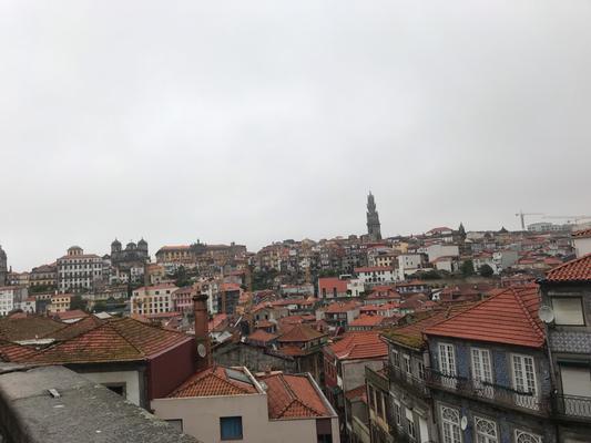 Sicht auf Porto von der Kathedrale aus