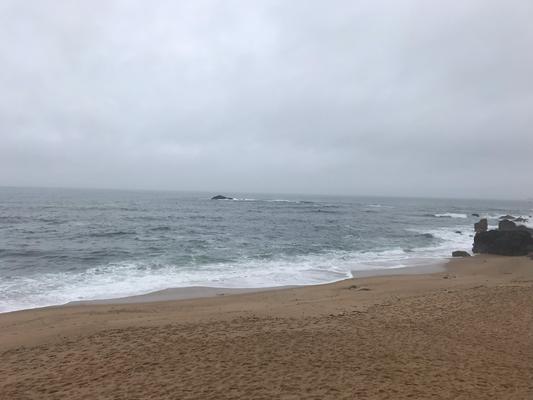 angekommen an Meer