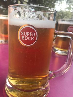 darauf erst mal ein großes Bier