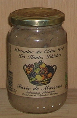 PUREE DE MARRON pot de 320g