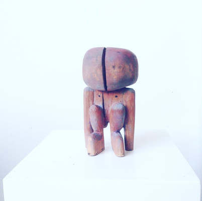 Untitled, Wood carved, 2017