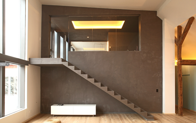 Fugenlose Treppen- Fugenlose Arbeitsplatten - Beton Cire ...