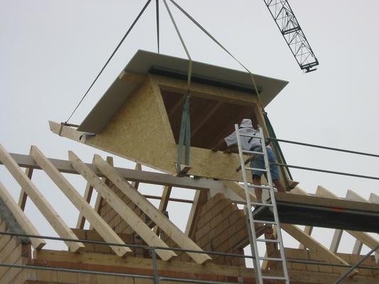 Aufbau - Kurt Strub Riken - Zimmerei | Dachbau | Spenglerei | Fassadenbau | Innenausbau