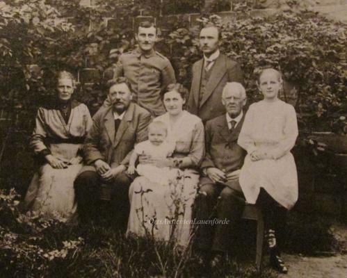 Heinrich Könecke und Lehrer Tegtmeier