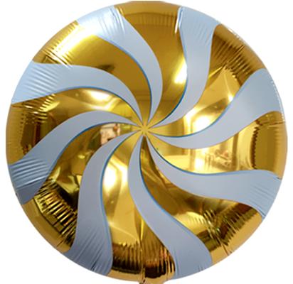 Круг леденец золото воздух 50 р., гелий 100 р.