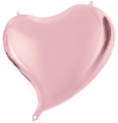 Сердце с изгибом 45 см 90 р. (пр-ва Китай Falali).